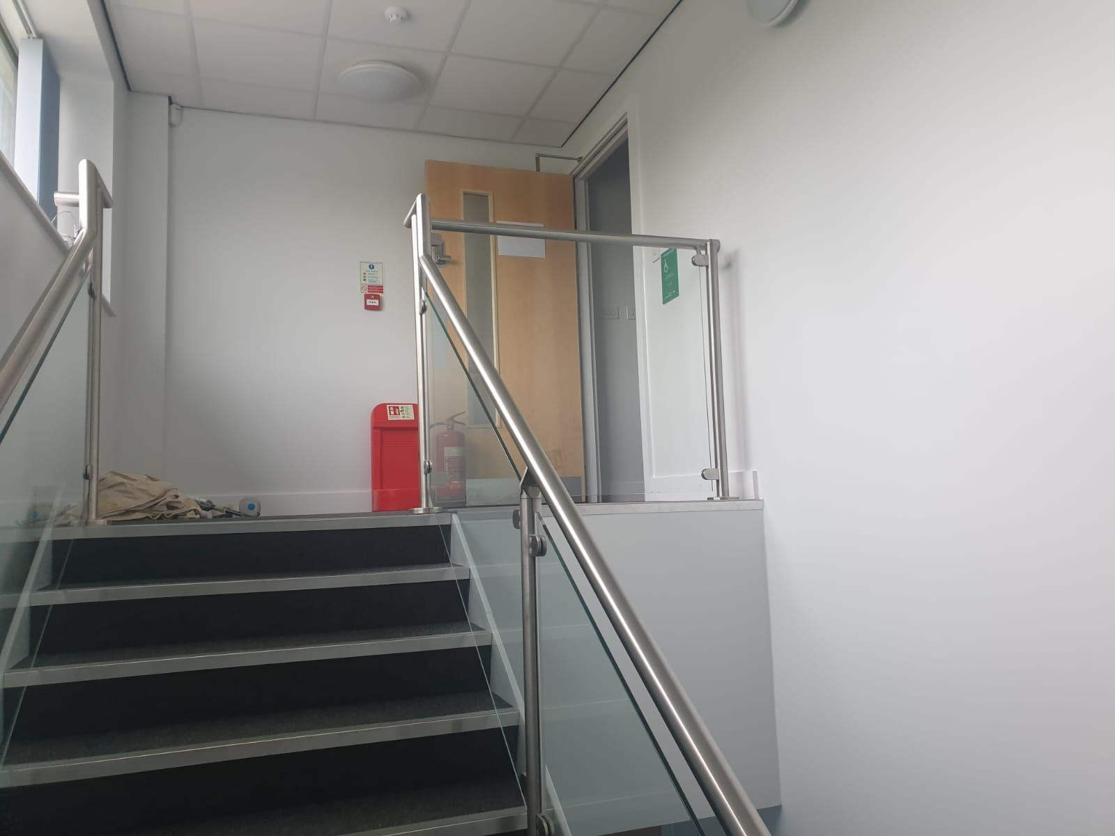 Business Offices, Reception, Stairways and Halls
